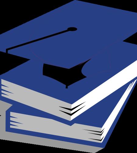 Logo in blauw